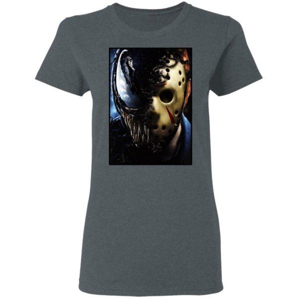 Jason Voorhees x Marvel Venom Halloween T-Shirt