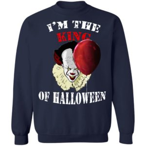 Im The King Of Halloween IT Pennywise Stephen King T-Shirt