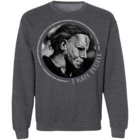 I Hate People Halloween Michael Myers T-Shirt