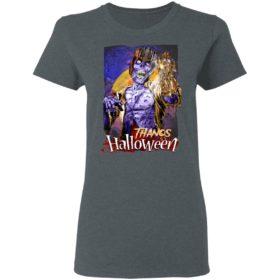 Horror Zombie Thanos Marvel Halloween T-Shirt