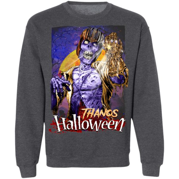 Horror Zombie Thanos Marvel Halloween T-Shirt