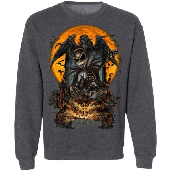 Heavy Metal Slipknot Jack Skellington Halloween T-Shirt