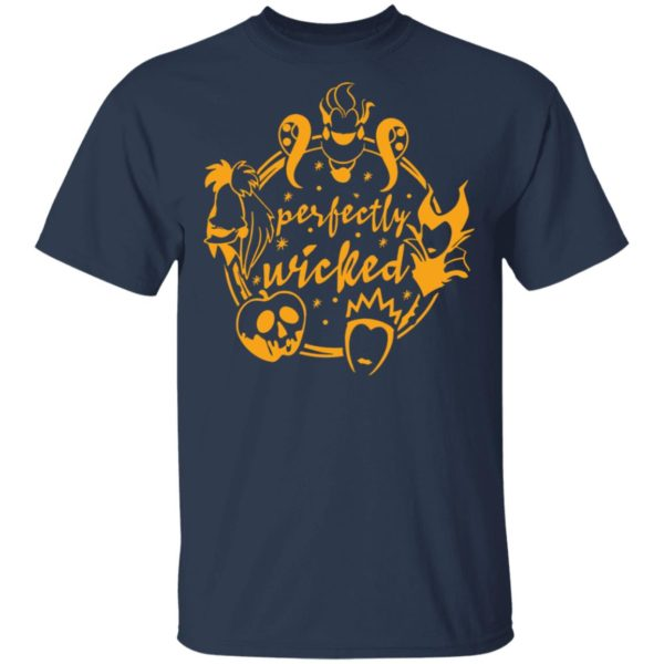 Halloween Perfectly Wicked Queen Villains T-Shirt