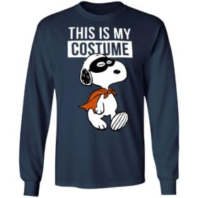 This Is My Costume Happy Halloween Masked Marvel Snoopy T-Shirt