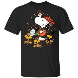 Snoopys Treat Halloween With Snoopy And Woodstocks T-Shirt