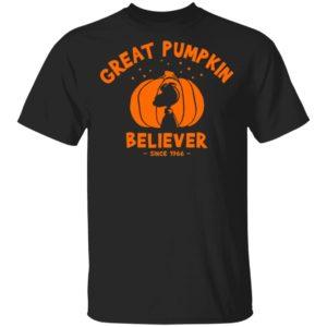 Since 1966 Great Pumpkin Believer Halloween Snoopy T-Shirt