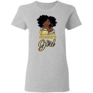 Black Girl Pittsburgh Steelers Shirt