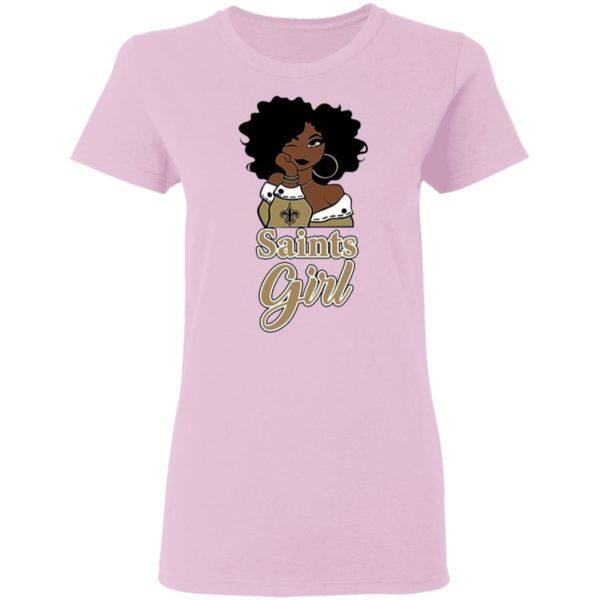 Black Girl Oklahoma Saints Shirt
