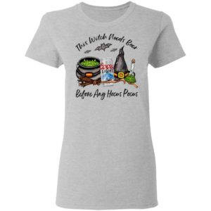 Coors Light Can This Witch Needs Beer Before Any Hocus Pocus T-Shirt