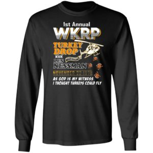 1St Annual Wkrp Turkey Drop With Les Nessman November 22 1978 T-shirt