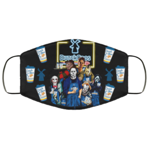 Dutch Bros Coffee Halloween Face Mask