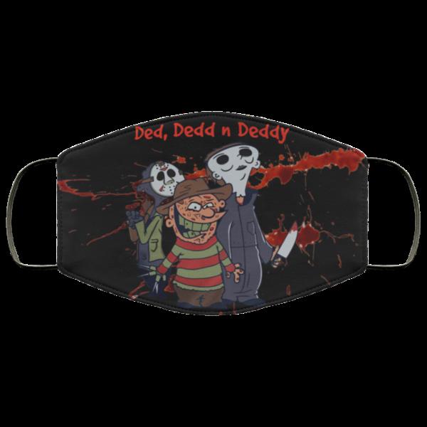 Ded Dedd N Deddy Halloween Face Mask