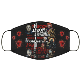 Chucky Jason Leatherface Michael Myers Ghostface Halloween Face Mask