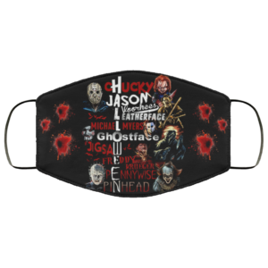 Chucky Jason Leatherface Michael Myers Ghostface Halloween Face Mask