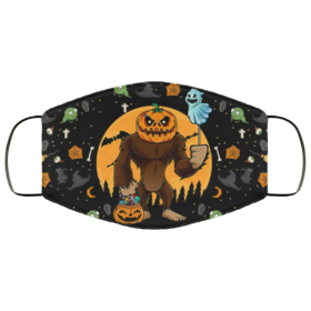 Hocus Pocus Dutch Bros Coffee Halloween Face Mask