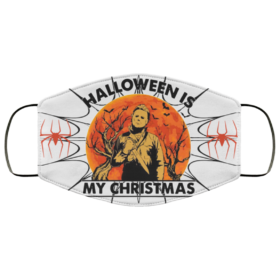 Halloween Is My Christmas Michael Myers Face Mask