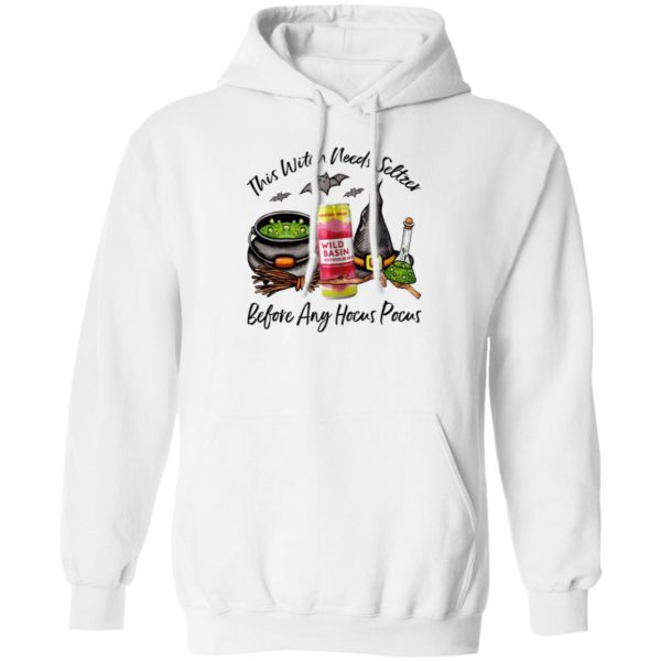 Wild Basin Lemon Agave Hibiscus This Witch Needs Seltzer Before Any Hocus Pocus Halloween T-Shirt