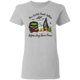 White Claw Lime This Witch Needs Seltzer Before Any Hocus Pocus Halloween T-Shirt