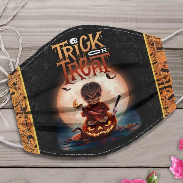 Horror Sam Trick Or Treat Halloween Face Mask