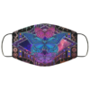 Butterfly Mandala Hippie Boho Face Mask