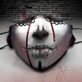 Sugar Skull Halloween face mask