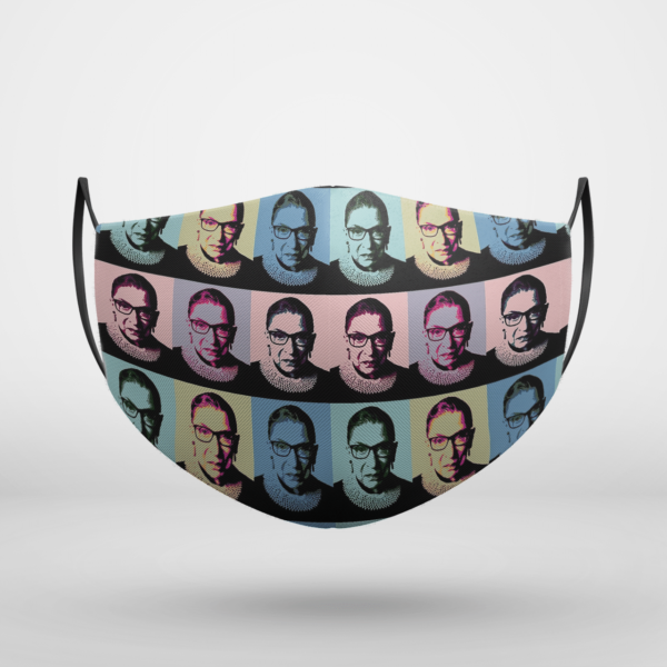 Notorious RBG - in muted colors Face Mask