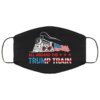 All Aboard the Trump Train 2020 Pro Trump Election Face Mask