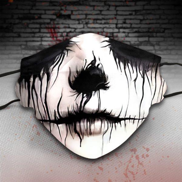 Sugar Skull Horror Halloween face mask