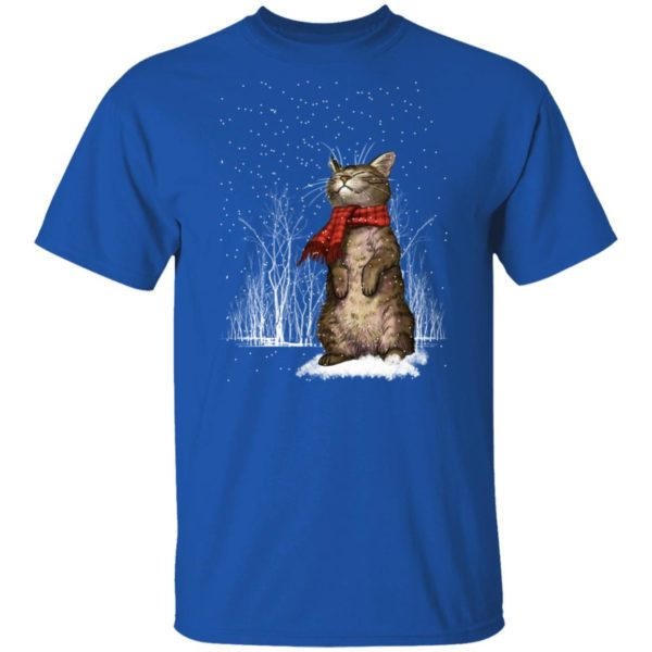Cat Snow Ugly Christmas Sweater