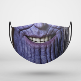 Thanos Smile Marvel Halloween Face Mask
