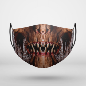Dawn of Justice Doomsday DC Halloween Face Mask