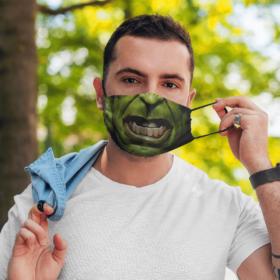 Hulk Marvel Halloween Face Mask