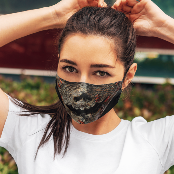 Scarecrow Halloween Face Mask