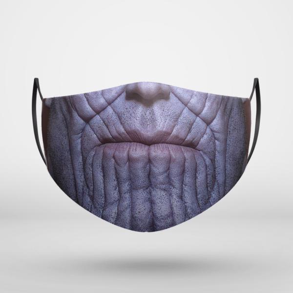 Thanos Marvel Halloween Face Mask