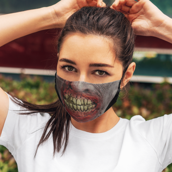 Scary Zombie Halloween Face Mask