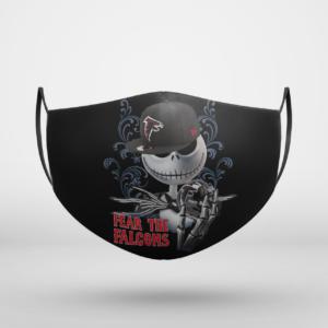 Fear The Atlanta Falcons Jack Skellington NFL Halloween