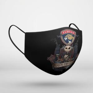 Florida Panthers Jack Skellington This Is Halloween NHL Face Mask