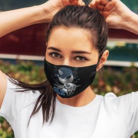 Fear The Tennessee Titans Jack Skellington NFL Halloween Face Mask