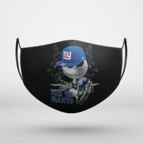 Fear The New York Giants Jack Skellington NFL Halloween Face Mask