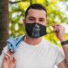 Los Angeles Chargers Jack Skellington Halloween Face Mask