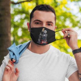 Kansas City Chiefs Jack Skellington Halloween Face Mask