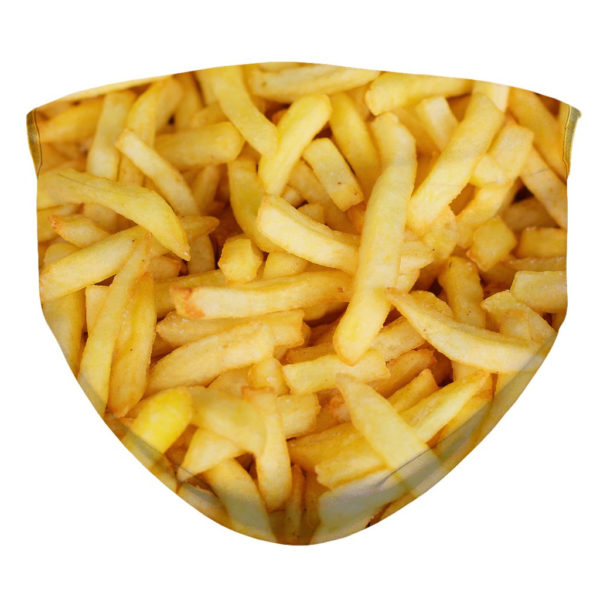 French Fries Face Mask