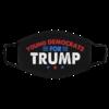 Young Democrat for Trump - Vote Trump 2020 Face Mask