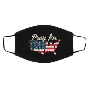 Pray For President Trump Get Well Soon POTUS and FLOTUS Face Mask