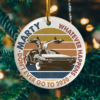 Marty Dont Ever Go to 2020 Circle Ornament - Keepsake Ornament