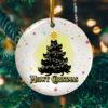 Meowy Christmas Black Cats Christmas Tree Decorative Christmas Ornament - Funny Christmas Holiday Gift