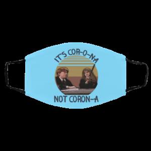 Its Cor-o-na Not Coron-na Harry Potter Wingardium Leviosa Face Mask