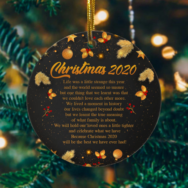 Best Christmas 2020 Decorative Christmas Ornament - Funny Holiday Gift