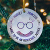 Forget Princess I Want To Be An Associate Justice Feminism RBG Collar Decorative Christmas Ornament - Funny Holiday Gift