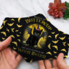 Buckle Up Buttercup Black Cat Face Mask